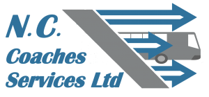 Nc Coaches services cyprus logo